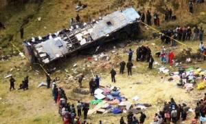 Τραγωδία στο Περού: Φορτηγό με μαθητές έπεσε σε γκρεμό (video)