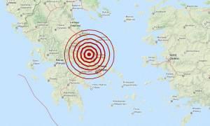 Σεισμός 5,3 Ρίχτερ βόρεια της Χαλκίδας (pics)