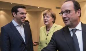 «Πυρετός» διαβουλεύσεων ενόψει της νέας συνάντησης Τσίπρα με Μέρκελ-Ολάντ