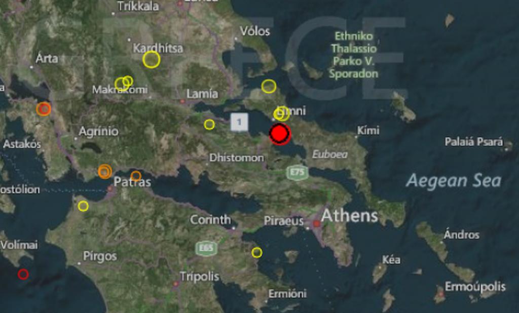 Σεισμός στη Χαλκίδα: Στο «χορό» των Ρίχτερ οι κάτοικοι - Πάνω από 20 μετασεισμοί