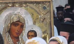 Η εικόνα της Παναγίας της Ιεροσολυμίτισσας θα μείνει στην Αθήνα μέχρι 14/6