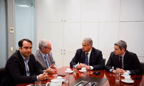 Συνάντηση Καραγκούνη-Βορίδη με αντιπροσωπεία του ΠΦΣ