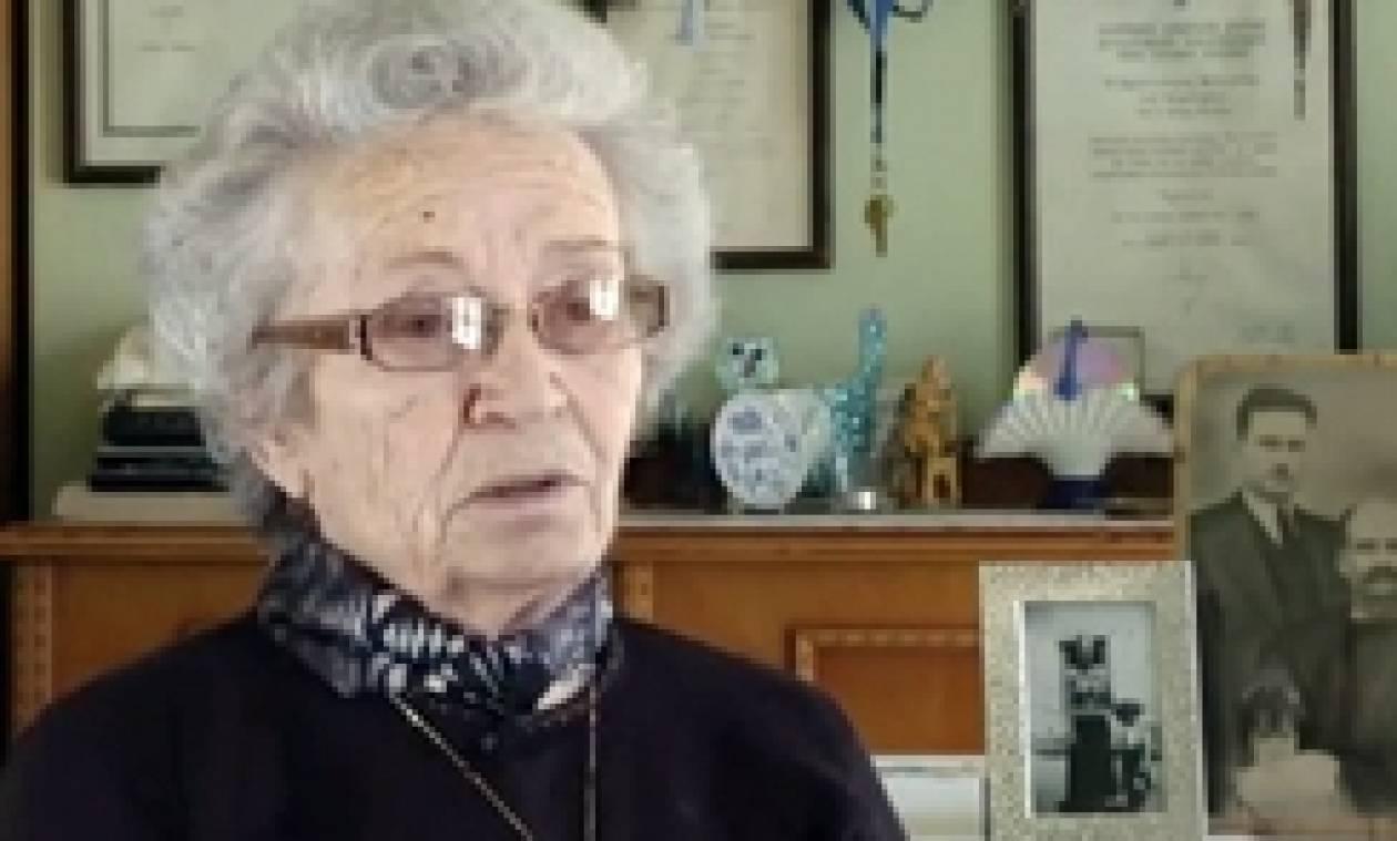 10 Ιουνίου 1944: Συγκλονιστική μαρτυρία  για τη Σφαγή του Διστόμου (video)
