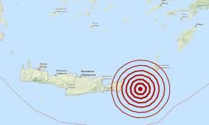 Σεισμός 5,4 Ρίχτερ ανατολικά της Κρήτης