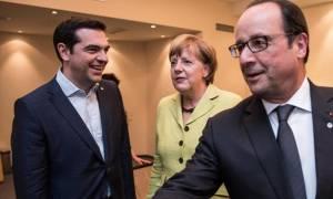 Τριμερής συνάντηση Τσίπρα με Μέρκελ-Ολάντ για να «κλείσει» η συμφωνία