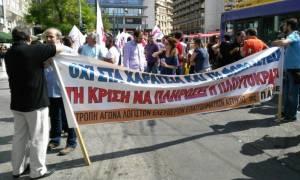 Συγκέντρωση διαμαρτυρίας της ΠΑΣΕΒΕ για τη φορολόγηση