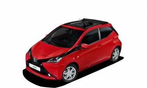Toyota: Aygo x-Wave με canvas top οροφή