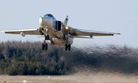 Ρώσικα Μαχητικά πάνω από Πολεμικά του 6ου Στόλου των ΗΠΑ στη Βαλτική