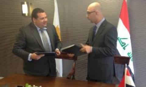 Διμερής Πολιτική Συνεργασία Κύπρου-Ιράκ