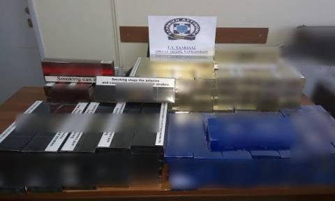 Χαλκίδα: Συνελήφθη 43χρονη από τη Βουλγαρία με ποσότητα λαθραίων τσιγάρων