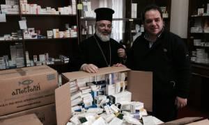 Διδυμότειχο: Η «Αποστολή» έστειλε φάρμακα και υγειονομικό υλικό στους ακρίτες