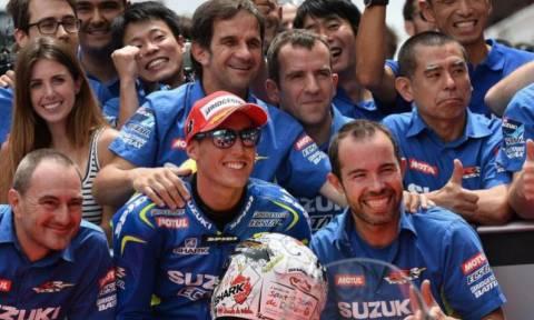 MotoGP Grand Prix Καταλωνία: Η έκπληξη της Suzuki