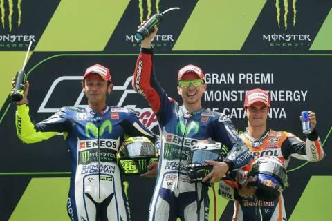 MotoGP Καταλωνία: Η τέταρτη κατάκτηση του Lorenzo (photos)