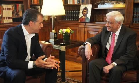 Στον Πρόεδρο της Δημοκρατίας τη Δευτέρα ο Θεοδωράκης