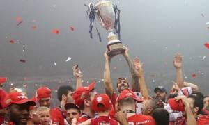 Ολυμπιακός: Η απονομή του πρωταθλήματος (photos)