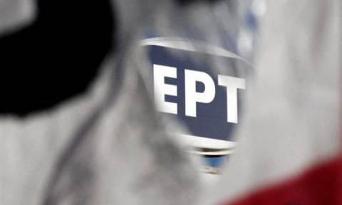 Επίθεση με μολότοφ σε βαν της ΕΡΤ στη Χαριλάου Τρικούπη