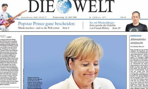 Ανθελληνικό παραλήρημα από την ανιστόρητη Die Welt