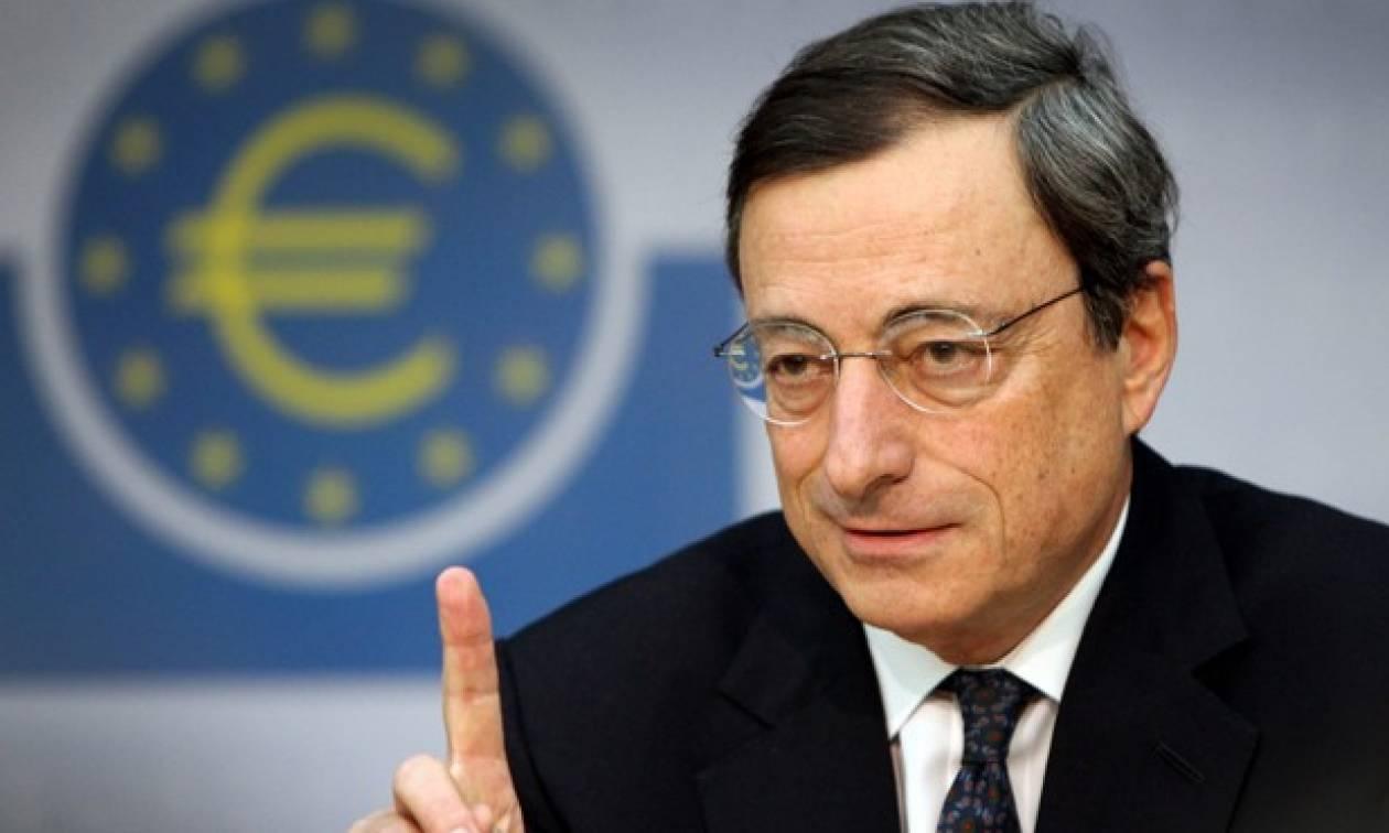 Ντράγκι: Απαιτείται πολιτική απόφαση για την Ελλάδα