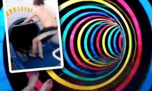Αυτή είναι η νεροτσουλήθρα «Μαύρη Τρύπα» (video)