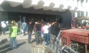 Ηράκλειο: Διακόπηκε η δίκη των 73 αγροτών για την κατάληψη στο αεροδρόμιο