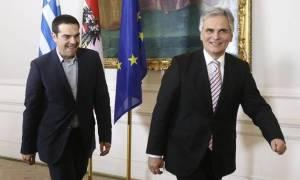 Στην Αθήνα ο αυστριακός καγκελάριος Βέρνερ Φάιμαν