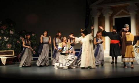Η Μήδεια, του Μποστ από το Θέατρο Στοά στο Ηρώδειο