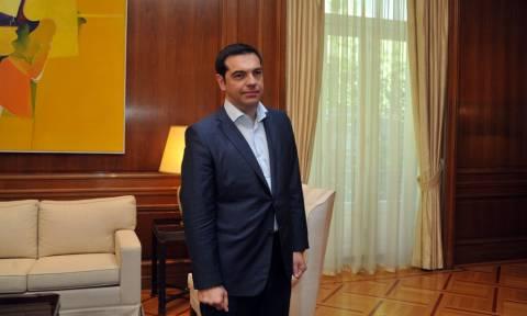 Συνάντηση Τσίπρα με πρέσβεις κρατών του Αραβικού Συνδέσμου