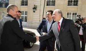 Συνάντηση Γκουρία – Βαρουφάκη στο Παρίσι