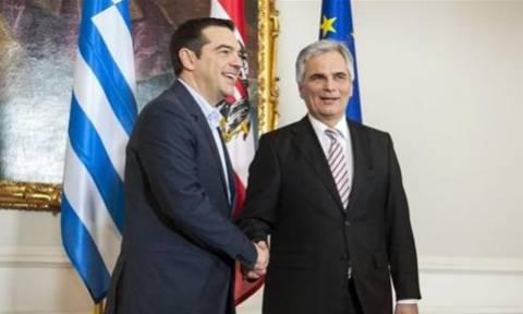 Με τον καγκελάριο της Αυστρίας συναντάται ο Αλέξης Τσίπρας
