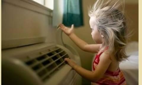 Μωρό και κλιματιστικό: Όλα όσα πρέπει να γνωρίζουμε
