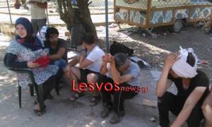 Νέα ένταση με μετανάστες στη Μυτιλήνη