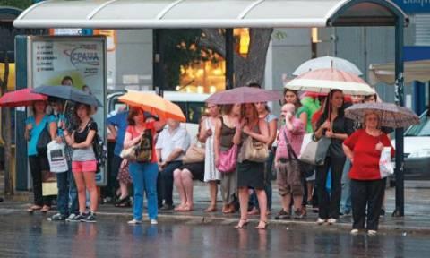 Χαλάει ο καιρός - 'Ερχονται ισχυρές βροχές, καταιγίδες και χαλαζοπτώσεις