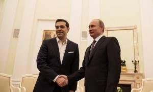 Στην Αγία Πετρούπολη ο Α. Τσίπρας - Η συνάντηση με τον Β. Πούτιν