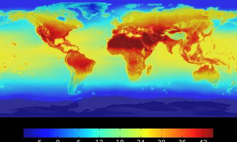 Η NASA προειδοποιεί: «Καυτός» ο πλανήτης μας το 2100 - Και η Ελλάδα στο «κόκκινο» (photos)