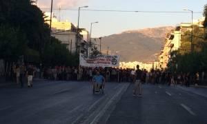 Συλλαλητήριο αντιεξουσιαστών στο κέντρο της Αθήνας (Photo)