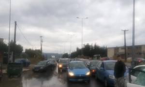Πλημμυρισμένα σπίτια και δρόμοι στη Θεσσαλονίκη (photos)