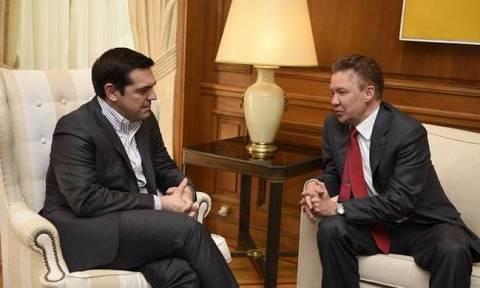 Επαφές Τσίπρα με Gazprom και αντιπροσωπεία των BRICS