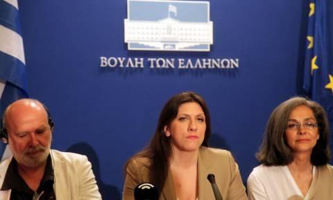 Κωνσταντοπούλου: Να μην αποπληρωθεί το «παράνομο» χρέος