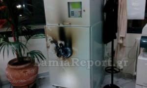 Λαμία: Άγνωστοι επιχείρησαν να παραβιάσουν ΑΤΜ με οξυγόνο