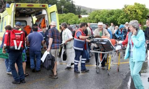 Με ανεπανόρθωτες εγκεφαλικές βλάβες η τουρίστρια που χτυπήθηκε από κεραυνό στην Κνωσό