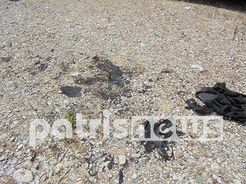 Πύργος: Άνδρας αυτοπυρπολήθηκε στη μέση του δρόμου (Photos - Video)