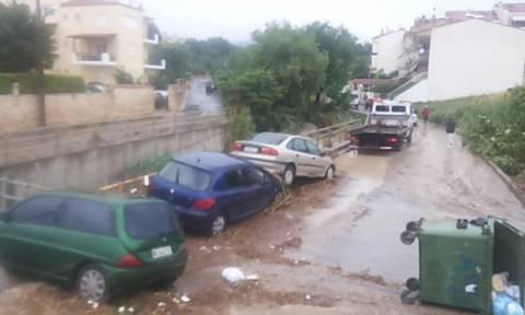 Ωραιόκαστρο Θεσσαλονίκης: Η Εισαγγελία Πρωτοδικών αναζητά ευθύνες για τις ζημιές από τη νεροποντή