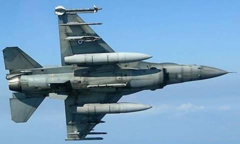 Εικονική αερομαχία ελληνικών και τουρκικών μαχητικών στο Αιγαίο