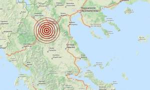 Σεισμός 3,6 Ρίχτερ νότια της Κοζάνης