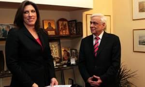 Συνάντηση Πρ. Παυλόπουλου – Ζ. Κωνσταντοπούλου