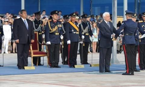 Τα ξίφη στους νέους ανθυπολοχαγούς επέδωσε ο Πρόεδρος της Δημοκρατίας