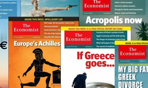 Τα 7 εξώφυλλα του Economist για την Ελλάδα της κρίσης