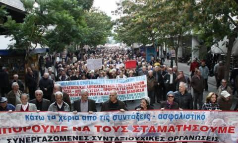Σήμερα το πανελλαδικό συλλαλητήριο των συνταξιούχουν στην Αθήνα