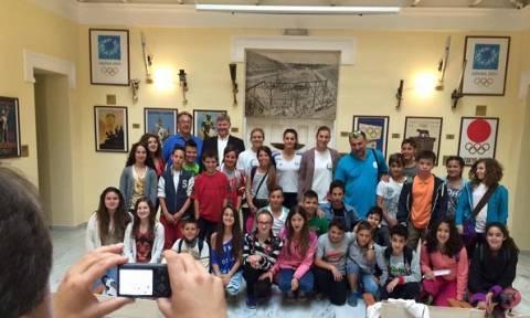 Ο Σύλλογος Ελλήνων Ολυμπιονικών τιμά τις αρχές και τις αξίες της Ολυμπιακής Ημέρας