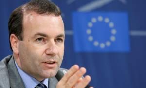 Βέμπερ: Σημείο εκκίνηση η πρόταση της Ελλάδας